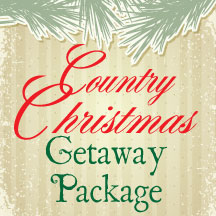 Country Christmas Getaway Package